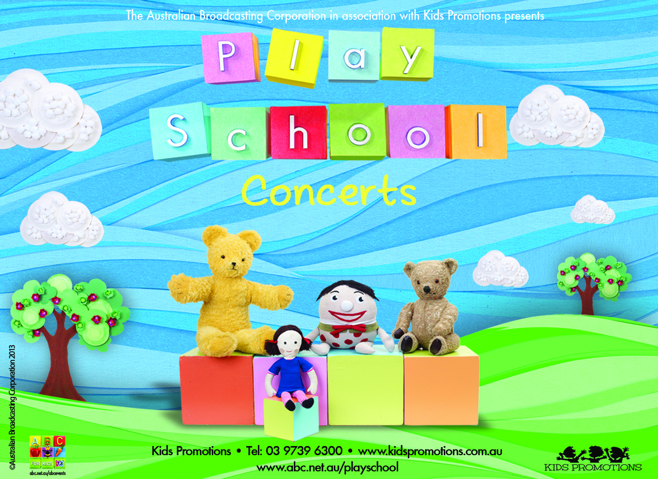 PLAY SCHOOL LIVE IN CONCERT [Various cities]