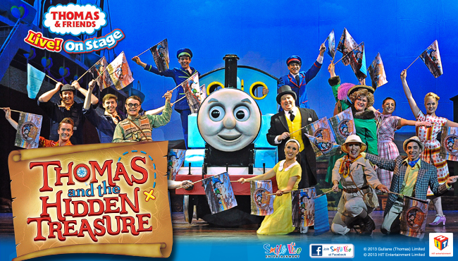 thomas and the hidden treasure melbourne � auslan stage left