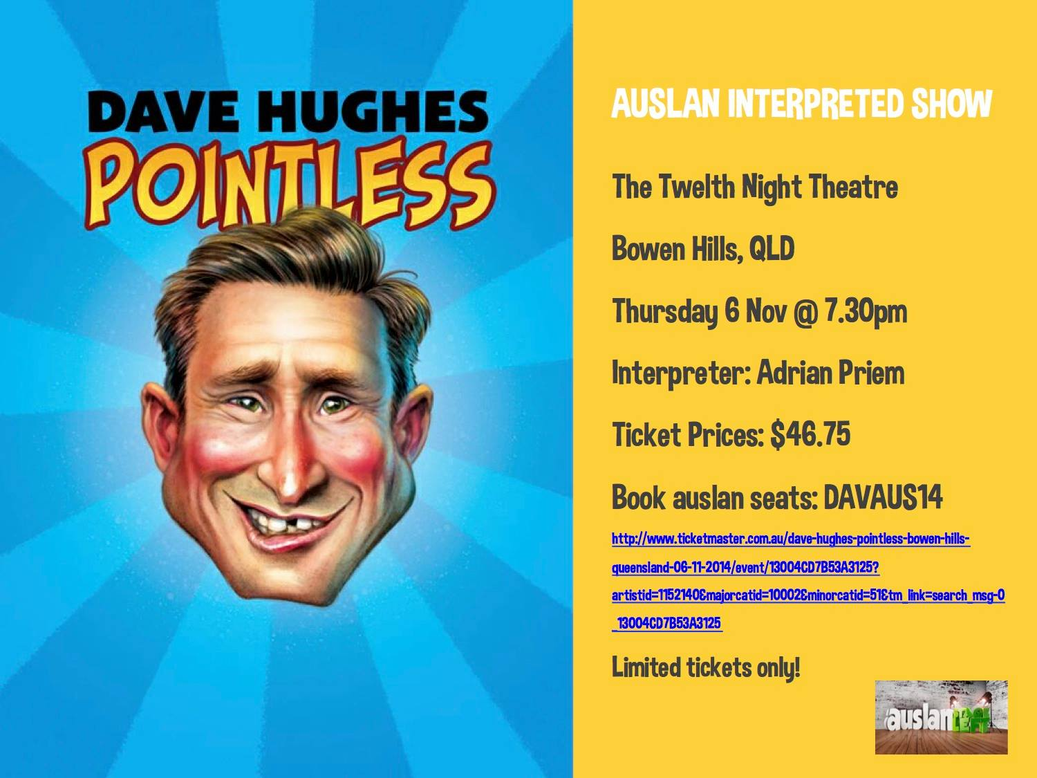 DAVE HUGHES: POINTLESS [Brisbane]