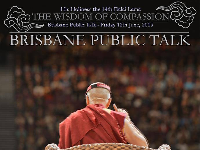 His Holiness the 14th Dalai Lama: Wisdom of Compassion [Brisbane]