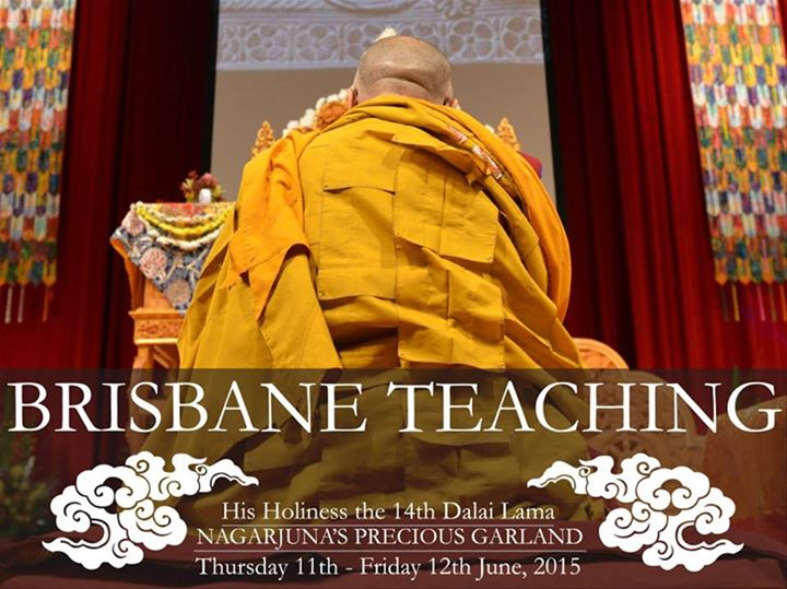 His Holiness the 14th Dalai Lama: Nagarjuna's Precious Garland [Brisbane]