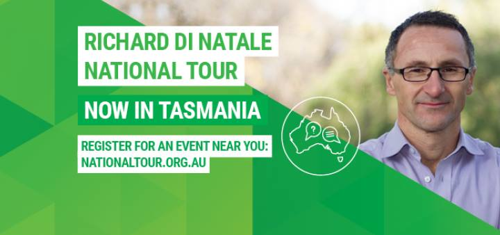 Richard Di Natale: National Tour [Perth]