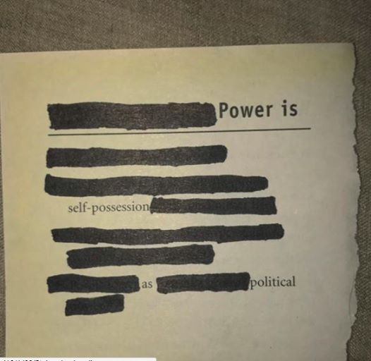 Self / intimacy / power - Public Forum (Poetry Readings) [Melbourne]