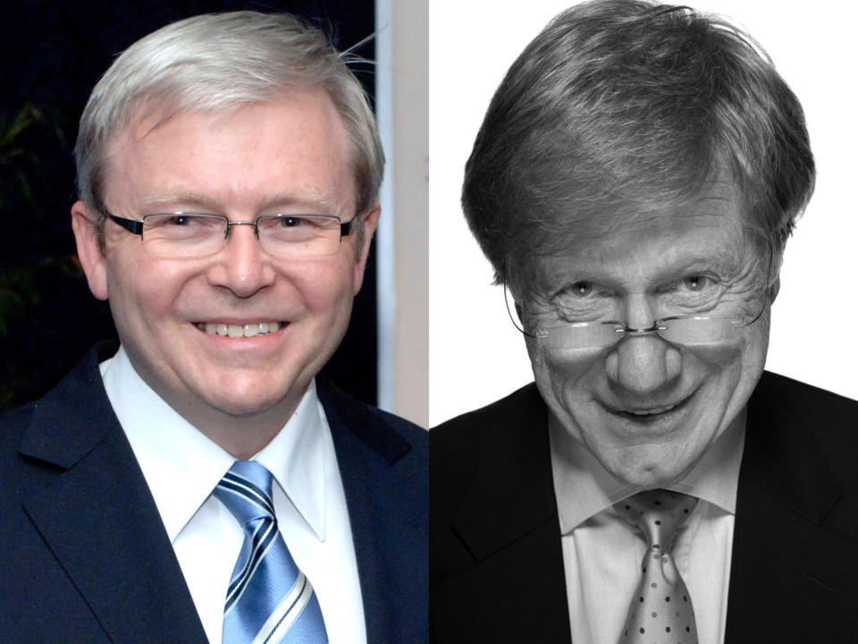 Kevin Rudd in Conversation with Kerry O'Brien (Wheeler Centre) [Melbourne]