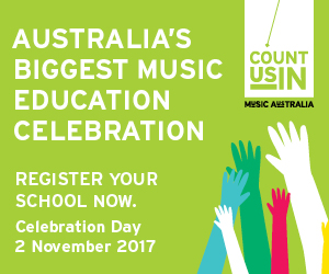 Music: Count Us In - Celebration Day [Melbourne]