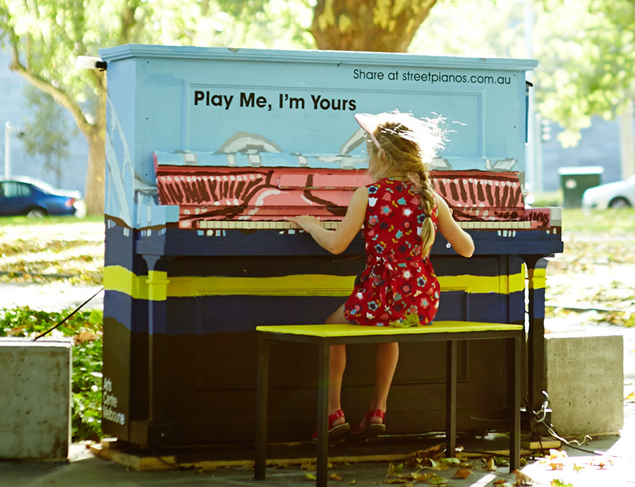 Play Me I'm Yours (Launch) [Melbourne]