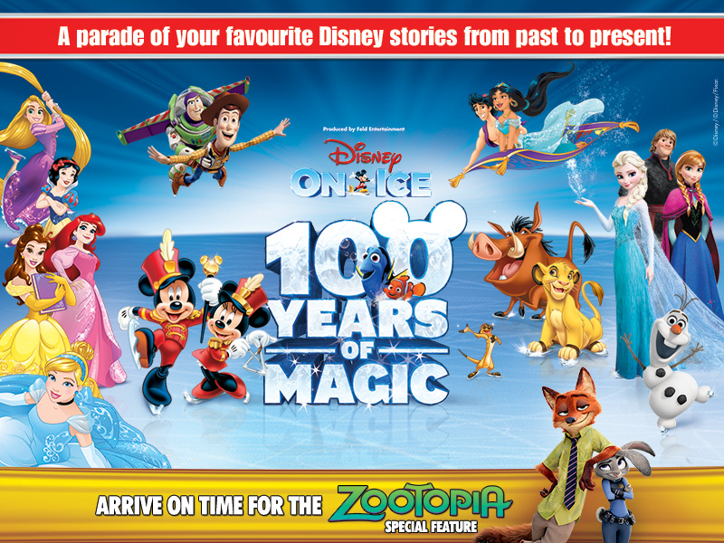 Disney On Ice celebrates 100 Years of Magic [Newcastle]