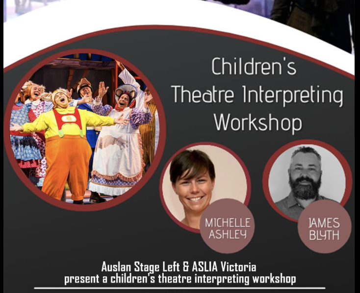 Children's Theatre Interpreting Workshop [Melbourne]