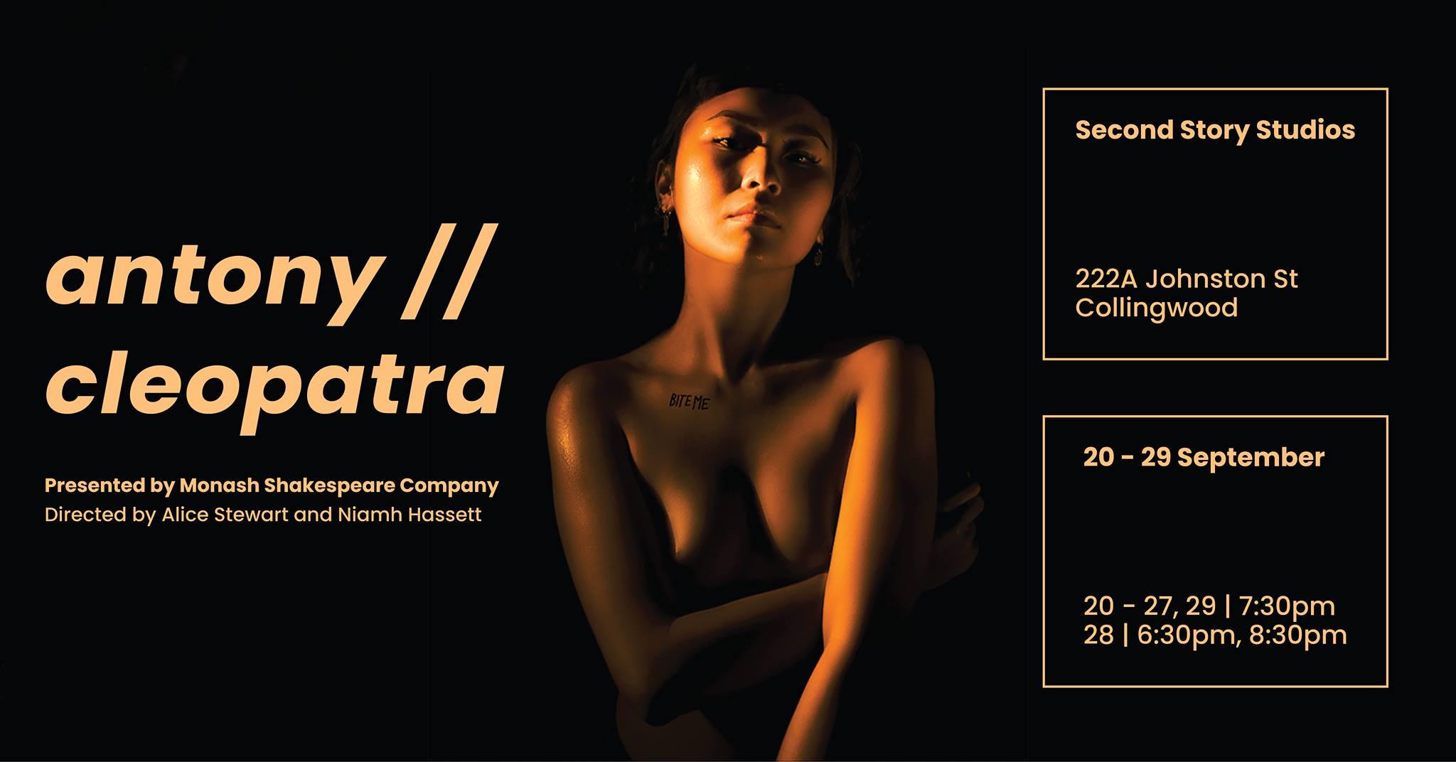 Antony//Cleopatra (MFF) [Melbourne]