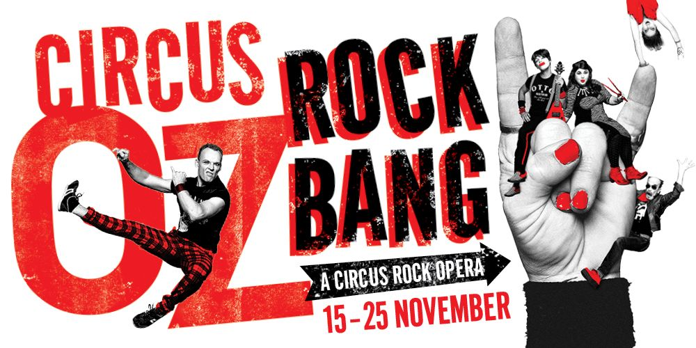 CIRCUS OZ  - Rock Bang [Hobart]