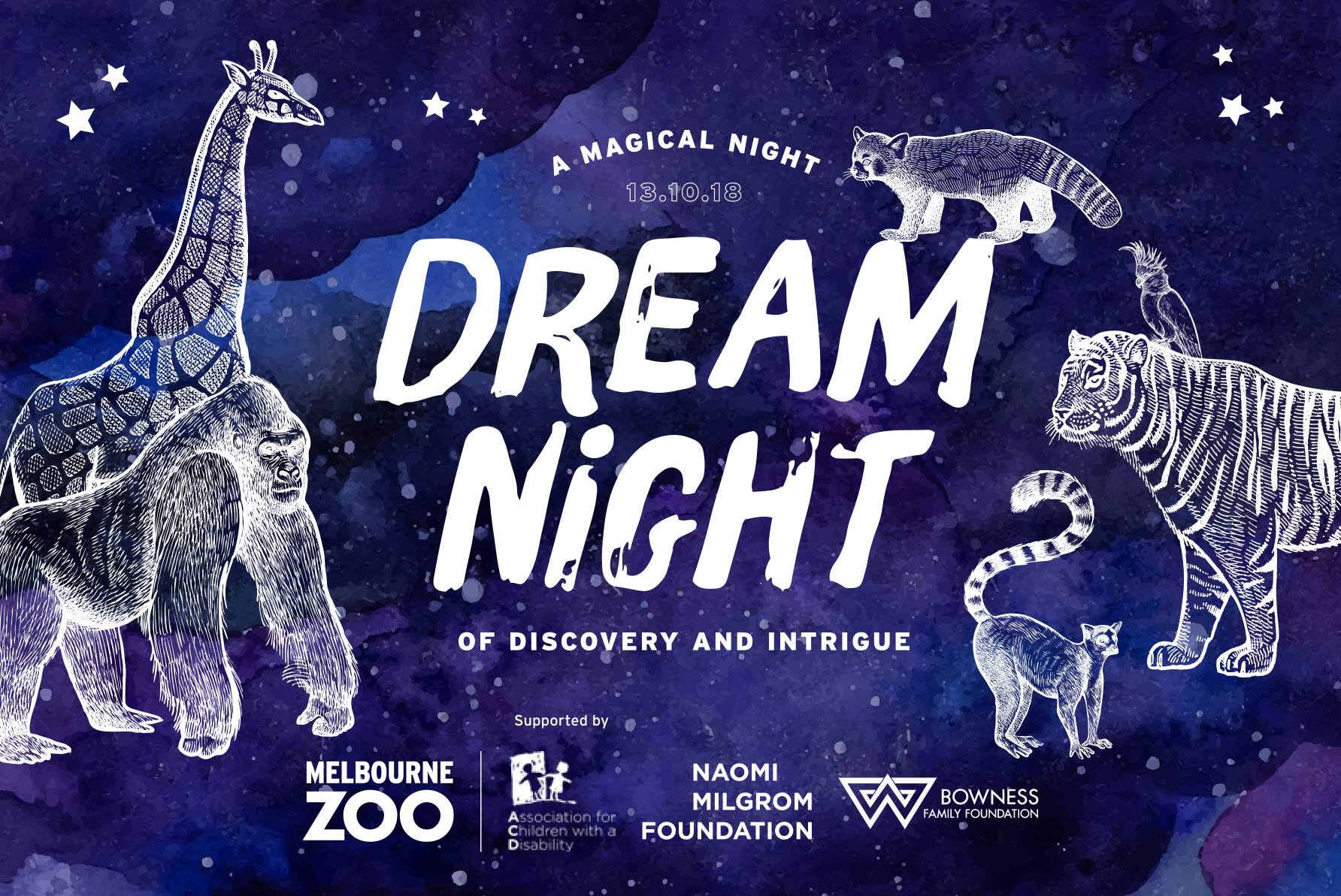 Dream Night - Melbourne Zoo [Melbourne]