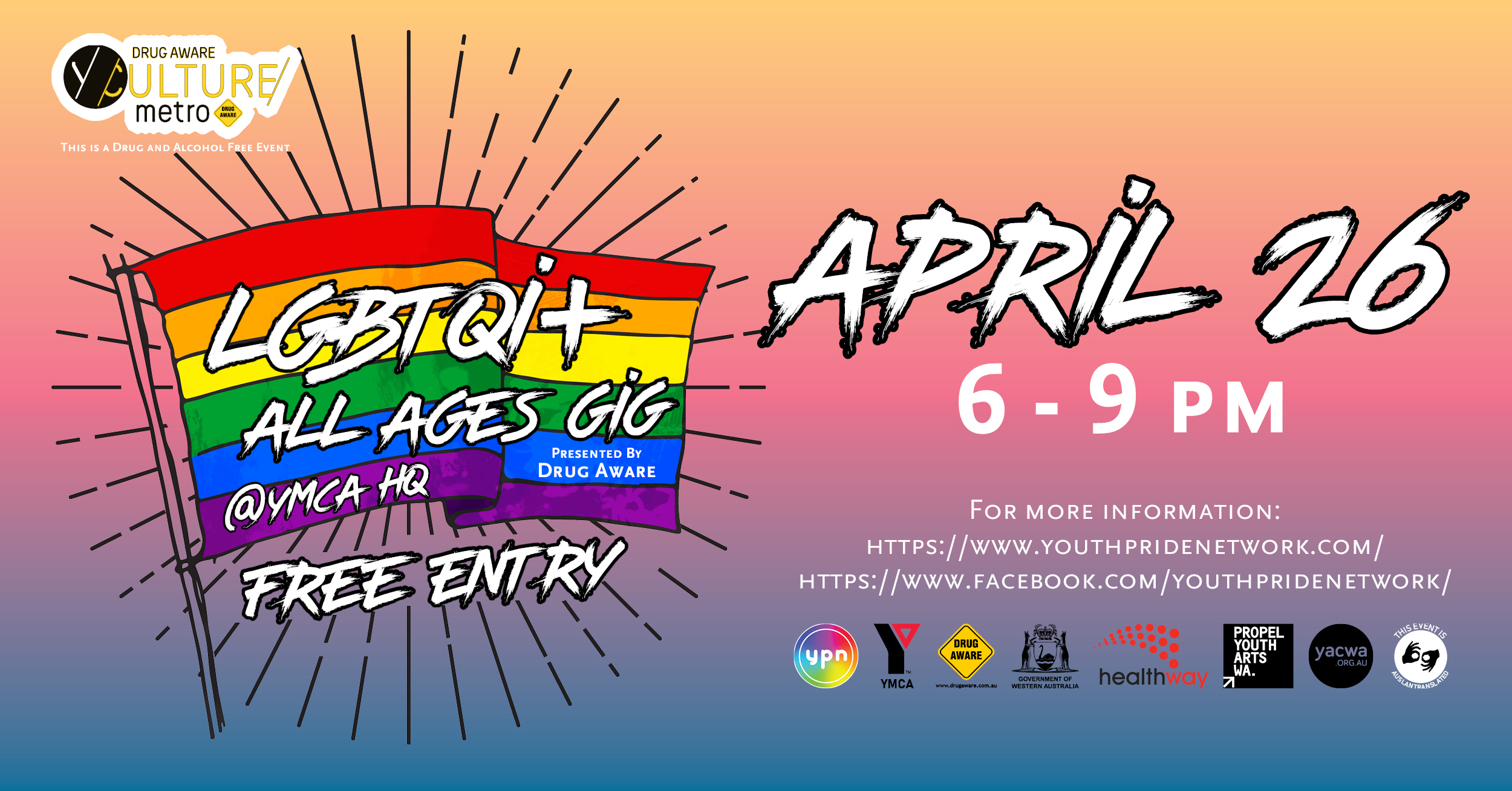 Youth Pride Network [Leederville, WA]