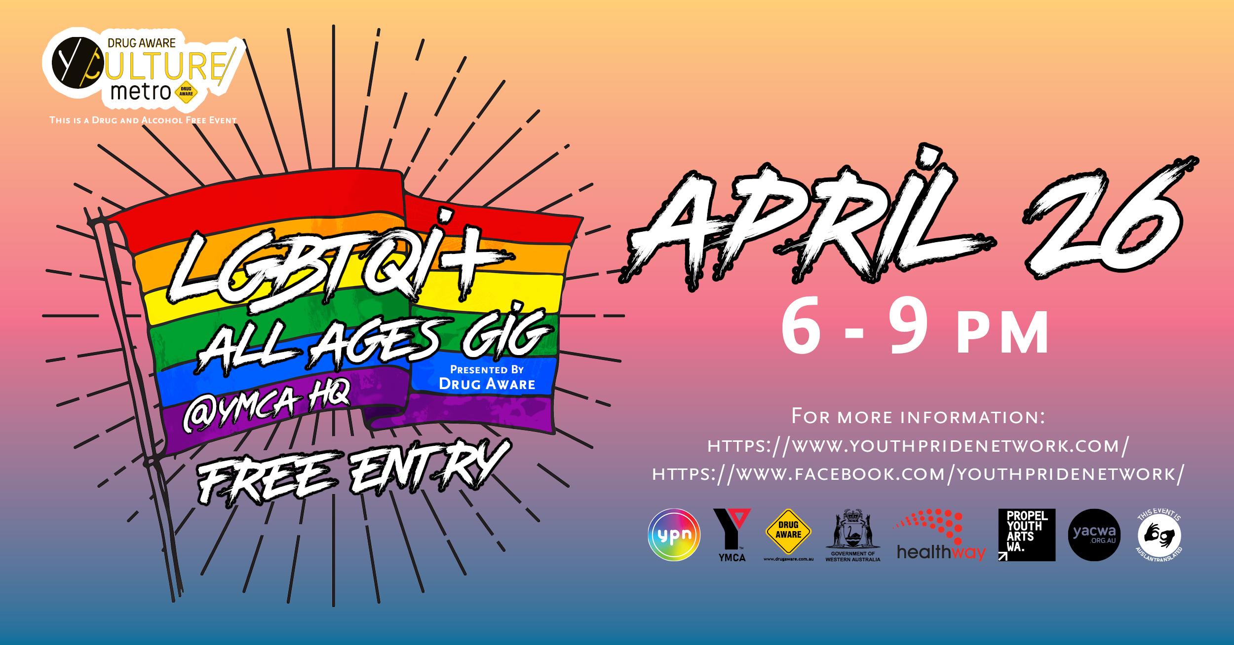 Youth Pride Network [Leederville, WA]