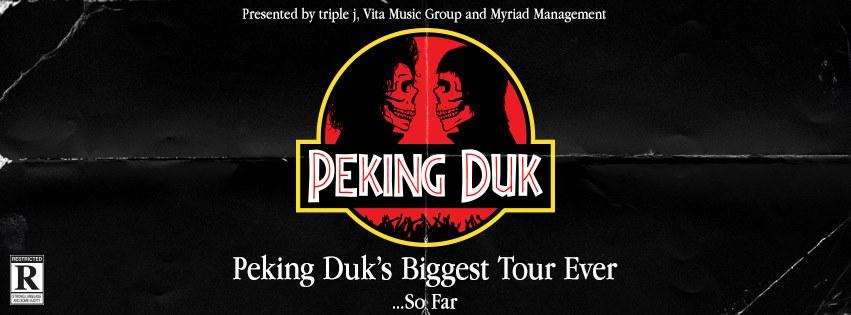 Peking Duk (Kwame + Kira Puru) [Melbourne]