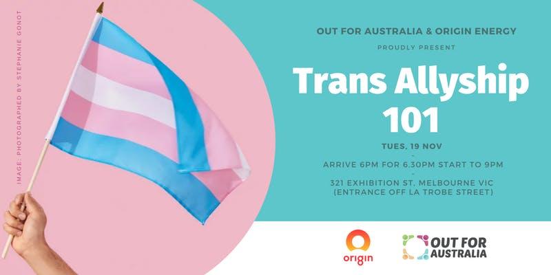 VIC: Trans Allyship 101 [Melbourne]