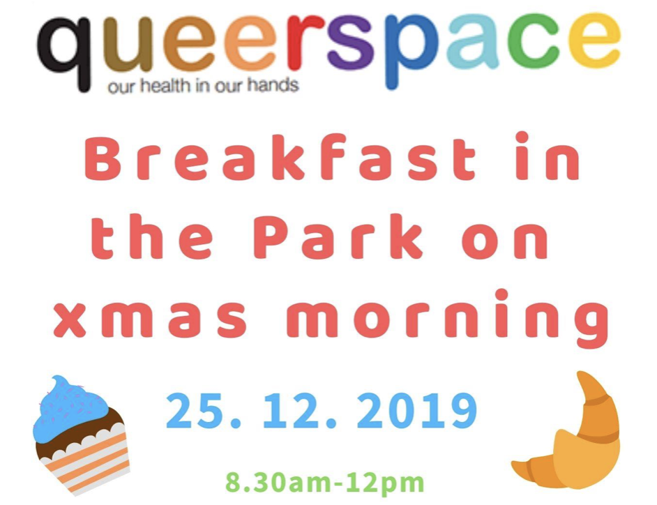 Queerspace Breakfast in the park on Xmas Morning [Melbourne]