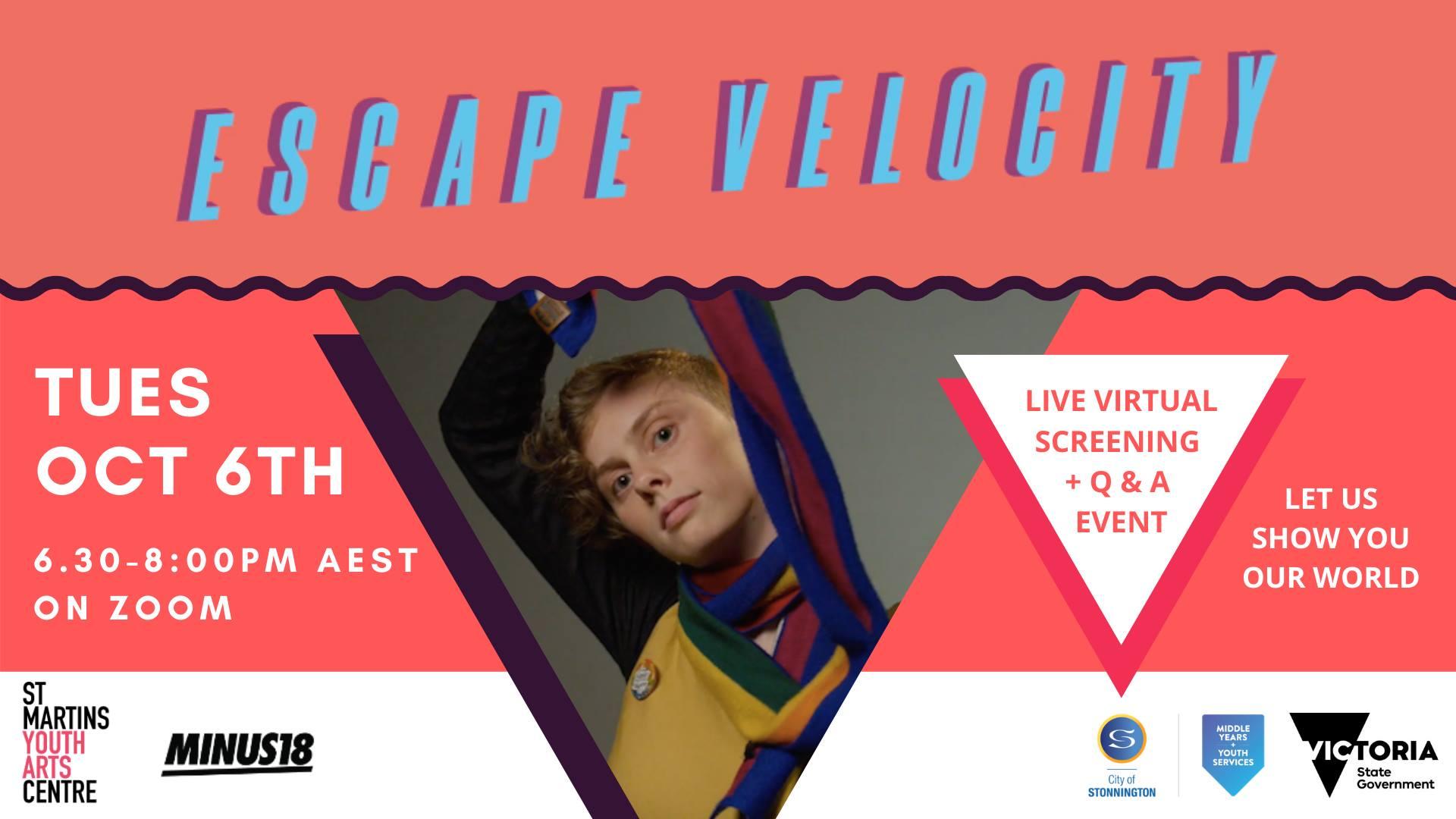 ESCAPE VELOCITY - Film Screening & Live Q&A [Online]