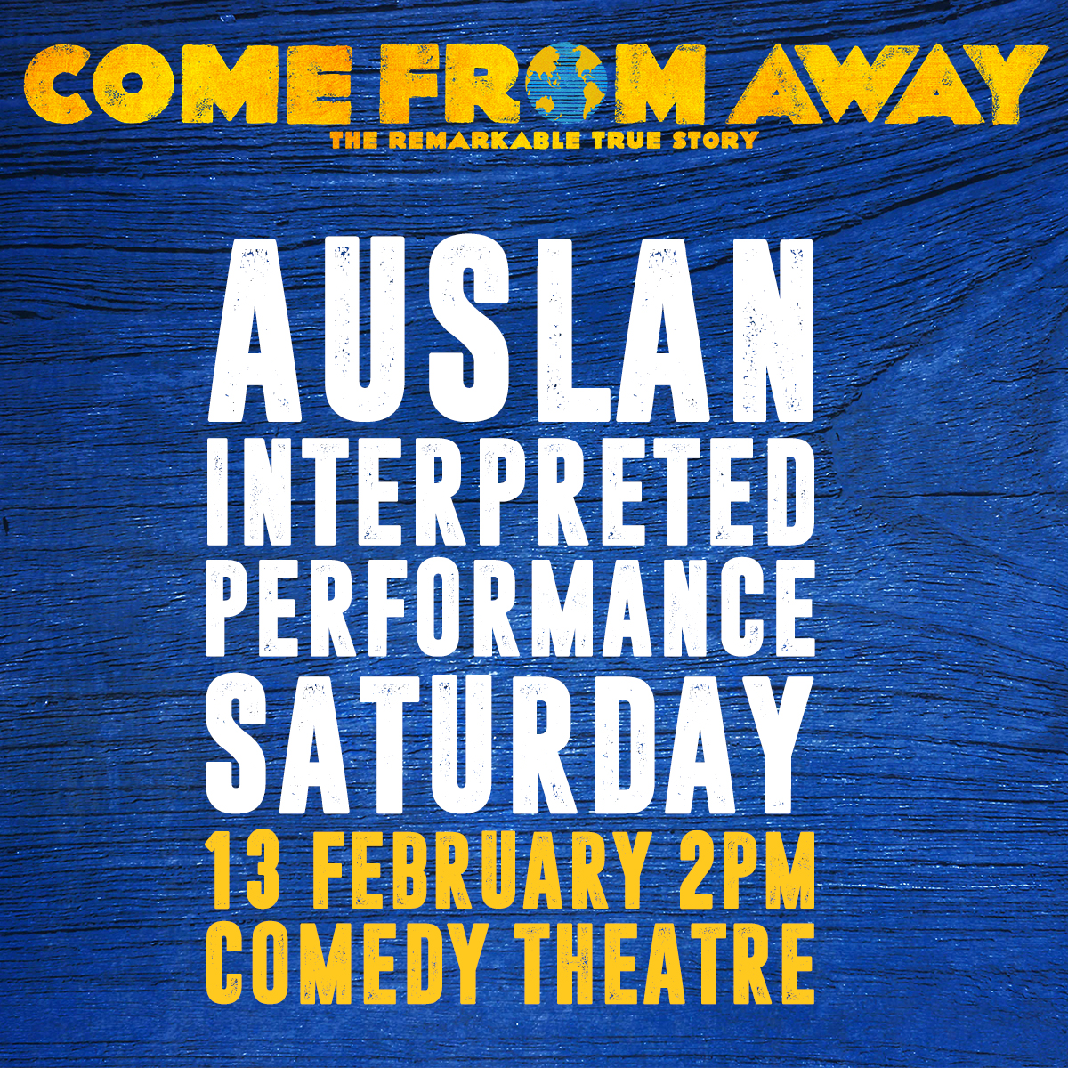 Come From Away [Melbourne]