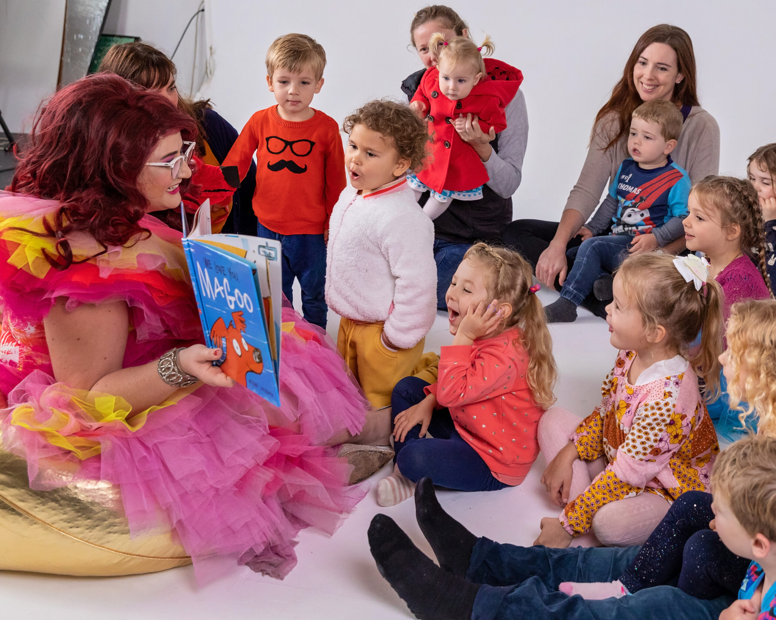 STORY READING WITH FAMOUS SHARRON (Bunbury Fringe Festival) [WA]