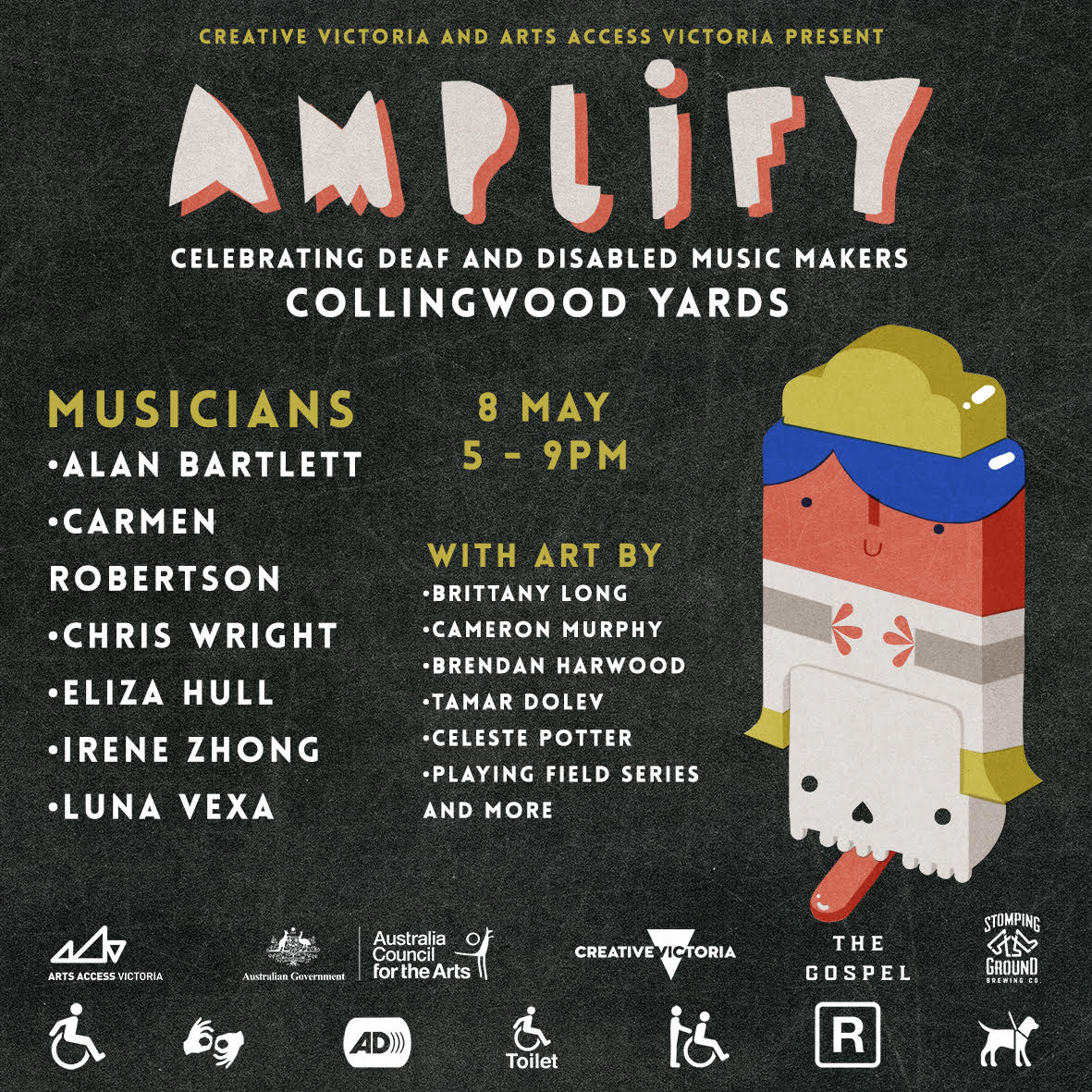 AMPLIFY (Music Makers Showcase) [Melbourne]