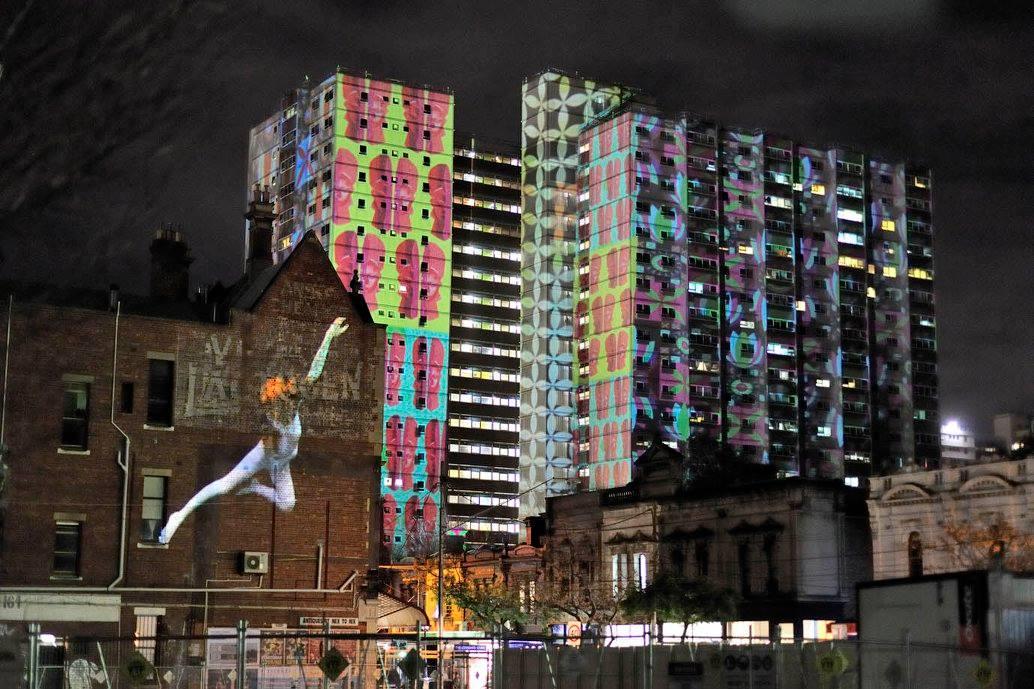 Projection Art (Strange Space) [Melbourne]