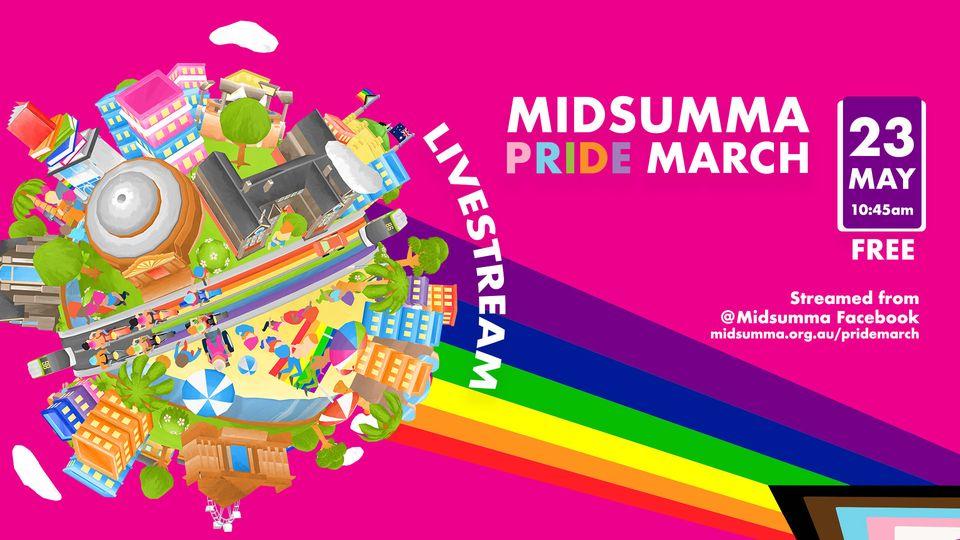 Midsumma Pride March 2021 - LIVESTREAM [Melbourne]