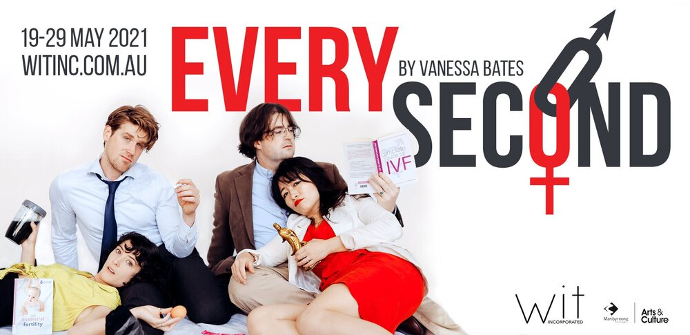 Every Second (presented by Wit Incorporated) [Melbourne]