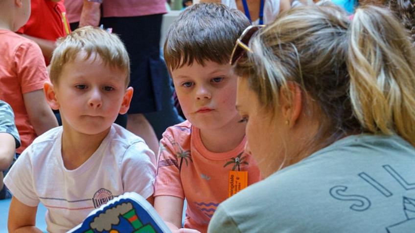 Children's Storytelling Workshop with Aussie STEM stars (SLV) [Online]
