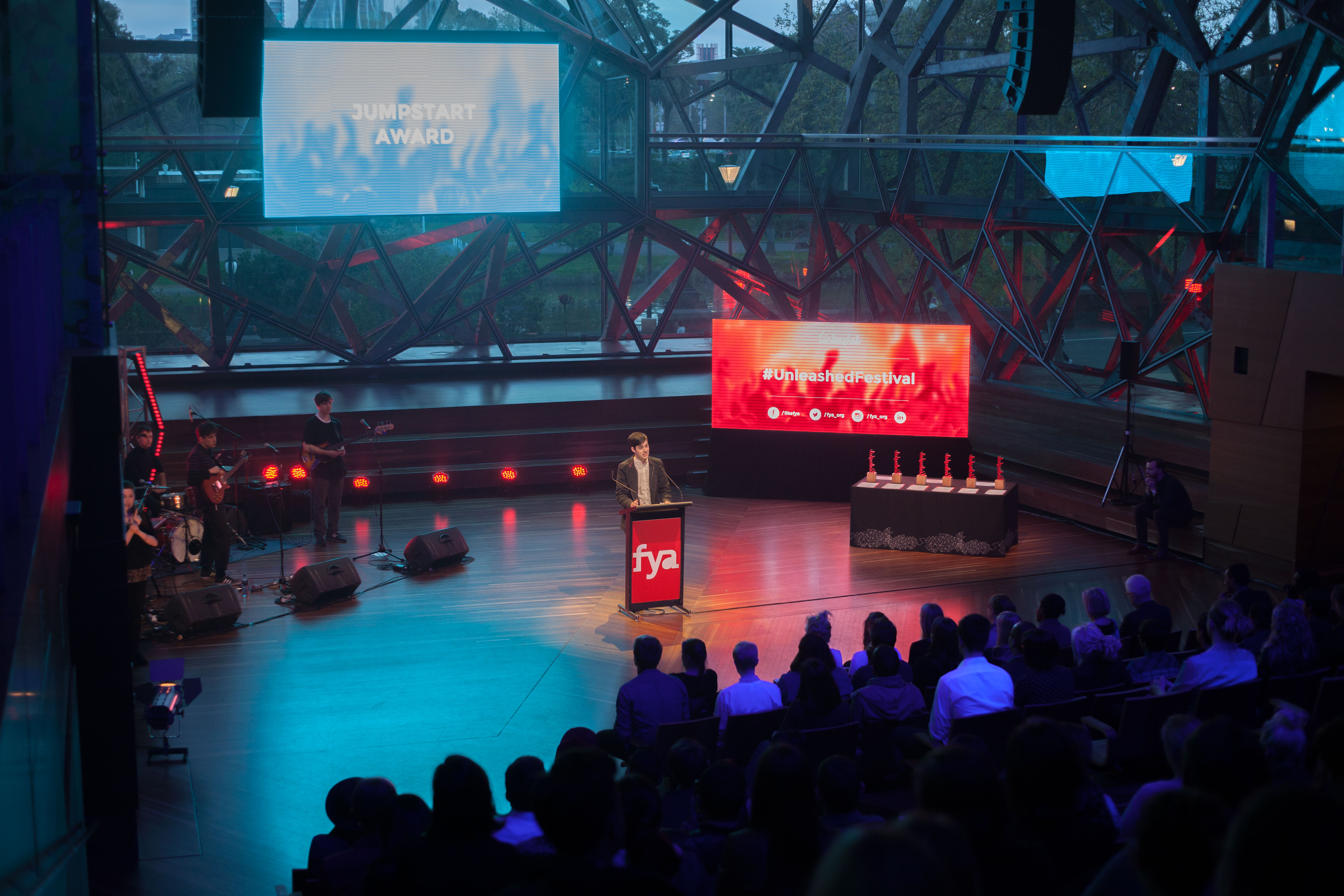 Unleashed Awards - Foundation for Young Australians (FYA) [Melbourne]