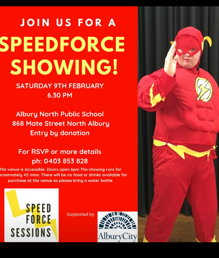 Speedforce Sessions Performance [Albury]
