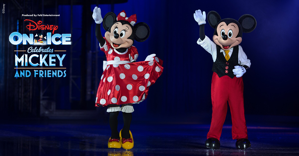 Disney On Ice celebrates Mickey and Friends [Adelaide]