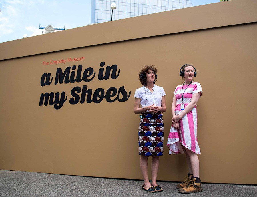 A Mile In My Shoes (Interpreter on site) [Melbourne]