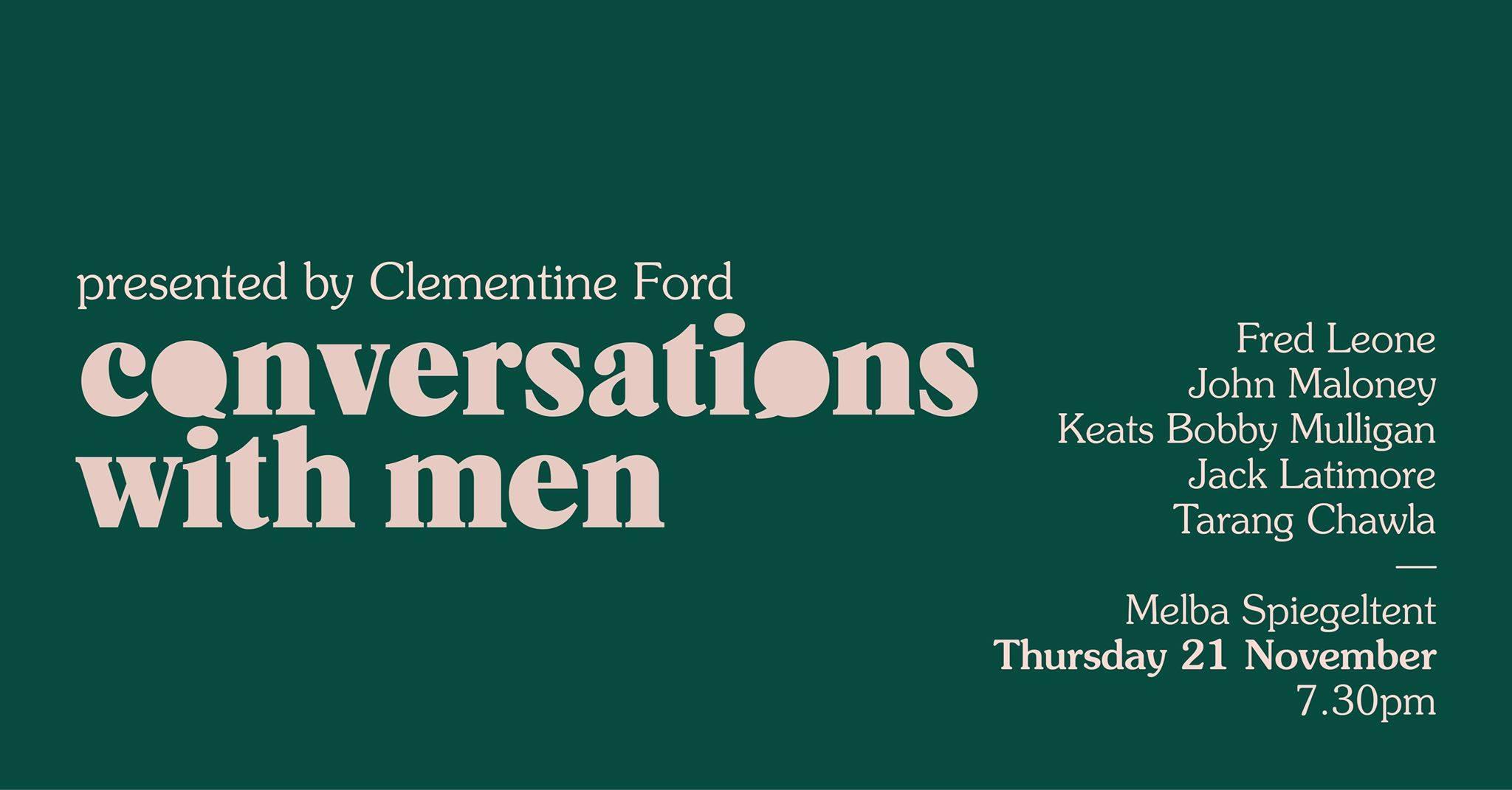 Conversations With Men [Melbourne]