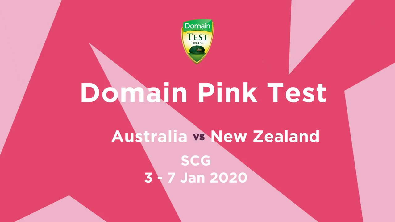 Cricket - Domain Pink Test - Australia vs NZ [Sydney]