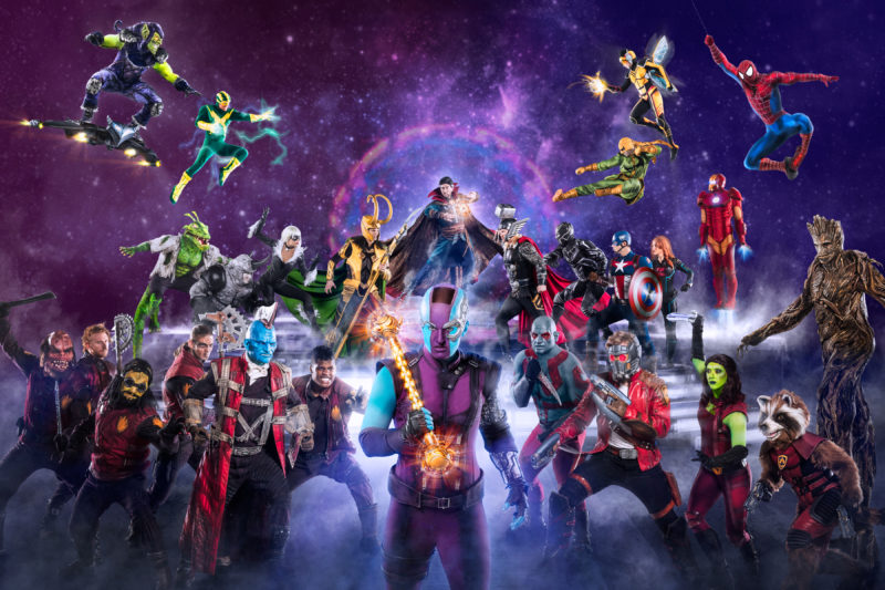 Cancelled - Marvel Universe Live! [Sydney]
