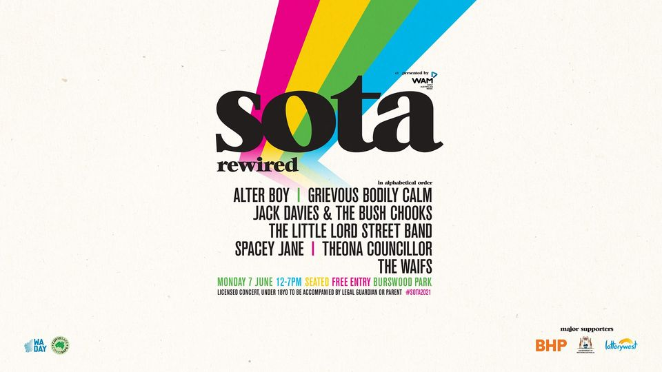 SOTA 2021 - SOTA Stage (State of the Art Music Festival) [Perth]